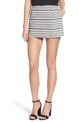 Women's Cupcakes And Cashmere 'Fallon' Jacquard Knit Wrap Skort