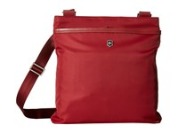 Victorinox Victoria Affinity Crossbody Day Bag Black Cherry Cross Body Handbags Burgundy