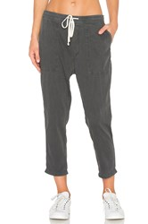 James Perse Relaxed Twill Pant Charcoal