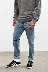 Bdg Destructed Light Stonewash Skinny Jean Vintage Denim Light