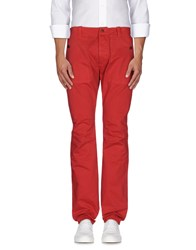 Gold Case By Rocco Fraioli Trousers Casual Trousers Men Red