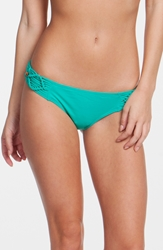 Rip Curl 'Destiny' Macrame Hipster Bikini Bottoms Juniors Green