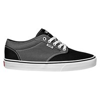 Vans Atwood 2 Tone Canvas Trainers Grey Black
