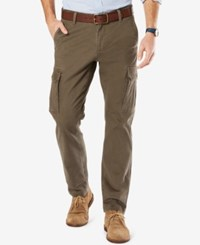 Dockers Alpha Athletic Fit Good Cargo Pants Dark Pebble