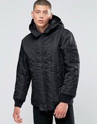 Converse Quilted Ma 1 Jacket In Black 10001142 A01 Black