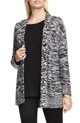Vince Camuto Women's Two By Side Slit Marled Cardigan