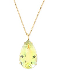 Roberto Coin Ipanema Pendant Necklace W Green Amethyst