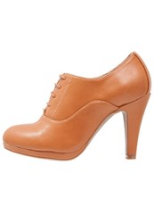 Anna Field Ankle Boots Cognac
