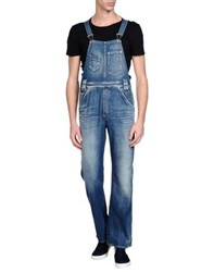Replay Dungarees Trouser Dungarees Men Blue