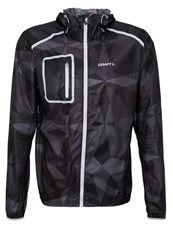Craft Focus Sports Jacket Geo Black Platinum