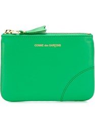 Comme Des Gara Ons Wallet Zipped Purse Green