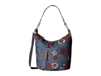 Haiku Ascend River Floral Print Handbags Blue
