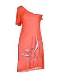 Phard Short Dresses Coral