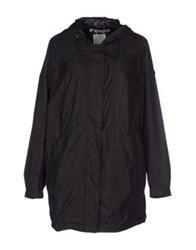 Geox Full Length Jackets Black