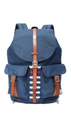 Herschel Large Dawson Backpack Navy Tan