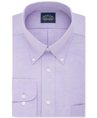 Eagle Men's Classic Fit Stretch Collar Non Iron Solid Dress Shirt Hyacinth