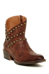 Matisse Cowgirl Studded Boot Brown
