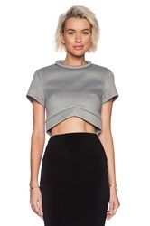 Minty Meets Munt Instant Crush Top Gray