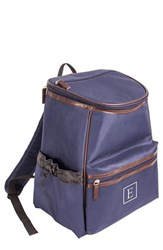 Cathy's Concepts Monogrammed Insulated Backpack Cooler Blue