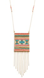 Mishky Colorful Necklace Gold Multi