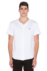 Obey Hartford Baseball Jersey White