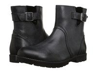 Birkenstock Stowe Black Leather Women's Zip Boots
