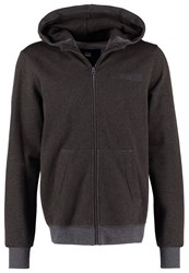 G Star Gstar Core Hooded Zip Sw L S Tracksuit Top Asfalt Heather Dark Grey