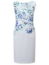 Jacques Vert Petite Falling Bloom Dress Multi Coloured