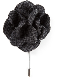 Lanvin Rose Pin Grey