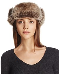 Barbour Ambush Hat With Faux Fur Cuff Olive