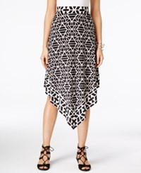 Inc International Concepts Petite Printed Handkerchief Hem Skirt Only At Macy's Tribal Stacks