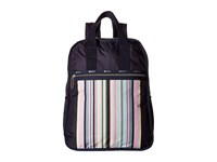 Le Sport Sac Urban Backpack Sunset Stripe Backpack Bags Red