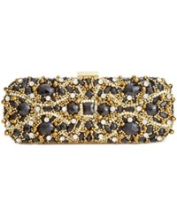 Inc International Concepts Elsiee Jeweled Clutch Only At Macy's Black