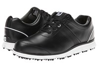 Footjoy Dryjoys Tour Casual Black White Men's Golf Shoes