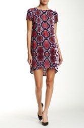 Eight Sixty Monte Python Shift Dress Red