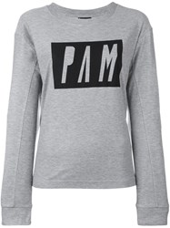P.A.M. Perks And Mini Pam 'Upgrade' Top Grey