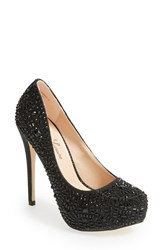 Women's Lauren Lorraine 'Vanna 2' Platform Stiletto Pump Black