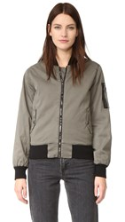 Hudson Gene Bomber Jacket Trooper Green
