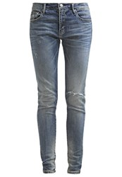 Earnest Sewn Jane Slim Fit Jeans Nashville Blue Blue Denim