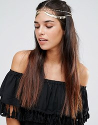 Aldo Arigna Headband Gold