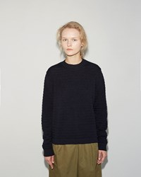 Norse Projects Bera Bubble Pullover Dark Navy