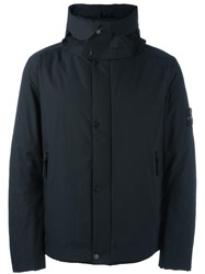 Stone Island Waterproof Padded Coat Black