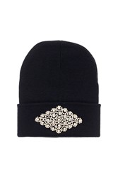 Rhinestone Beanie By Her Curious Nature Clear