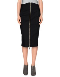 French Connection Skirts Knee Length Skirts Women Black