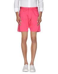 Marc By Marc Jacobs Trousers Bermuda Shorts Men Fuchsia