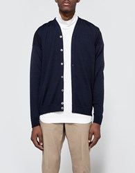 S.N.S. Herning Intro Cardigan Blue Brain