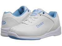 Dexter Raquel Iv Jr. White Blue Men's Bowling Shoes