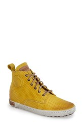 Women's Blackstone 'Fl62' Hidden Wedge Sneaker Yellow