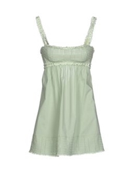 Ermanno Scervino Lingerie Nightgowns Light Green