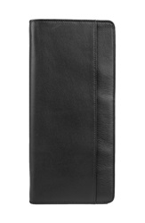 Bosca 'Flight Attendant' Travel Wallet Black